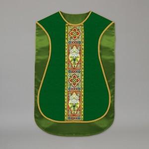 Printed Roman Chasuble 4532 - Green  - 2