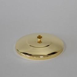 12cm Golden Lid for Ciborium  - 1