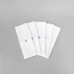 Purificators pack of 5 with Blue cross  - 1