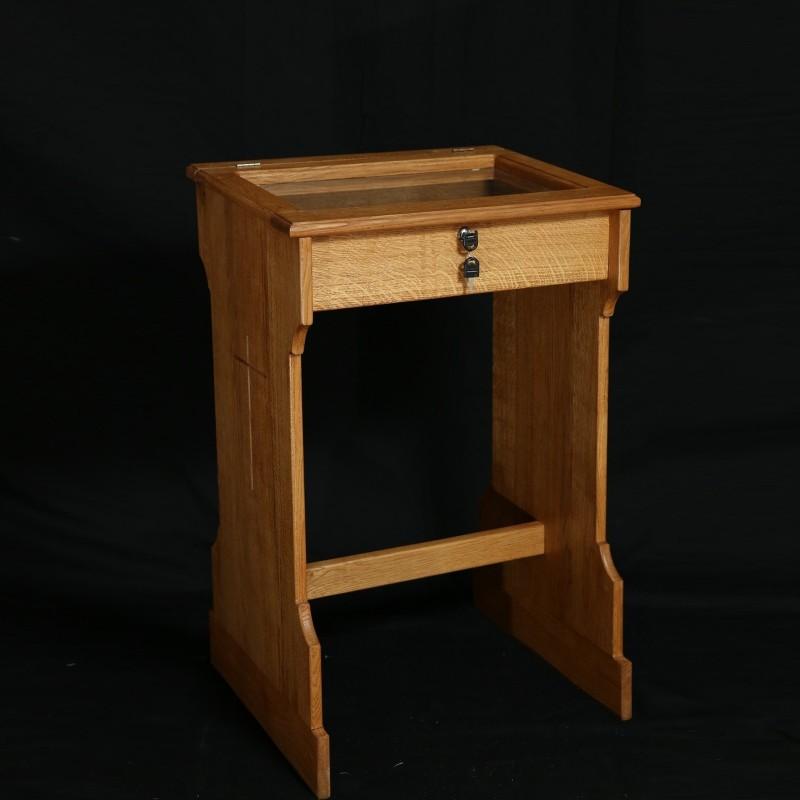 Oak Memorial Bookcase 12919  - 1