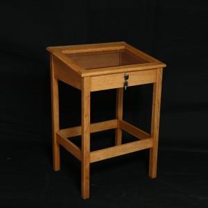 Oak Memorial Bookcase 12920  - 1