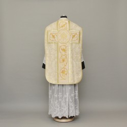 Roman Chasuble 12957 - Gold  - 6
