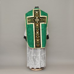 Roman Chasuble 12958 - Green  - 5