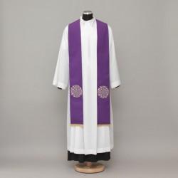 Gothic Stole 13074 - Purple  - 1