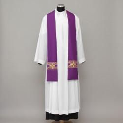 Gothic Stole 13075 - Purple  - 1