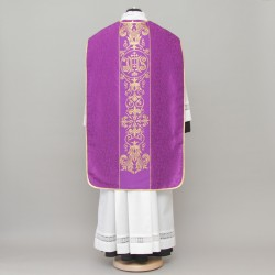 Roman chasuble 13164 - Purple  - 2
