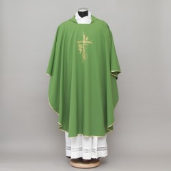 Gothic Chasuble 13166 - Green