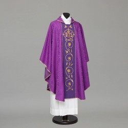 Gothic Chasuble 13177 - Purple  - 1