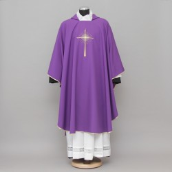 Gothic Chasuble 13183 - Purple