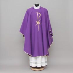 Gothic Chasuble 13184 - Purple  - 1