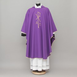 Gothic Chasuble 13185 - Purple