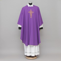 Gothic Chasuble 13188 - Purple