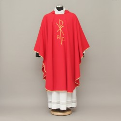 Gothic Chasuble 13193 - Red