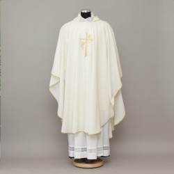 Gothic Chasuble 13205 - Cream  - 2