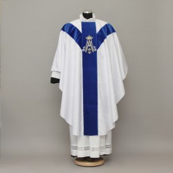 Gothic Chasuble 13208 - White