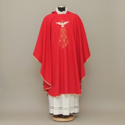 Gothic Chasuble 13223 - Red  - 3