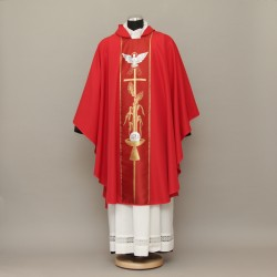 Gothic Chasuble 13224 - Red