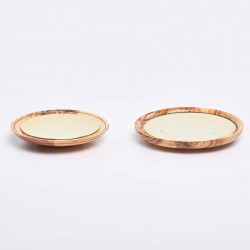 Olive Wood Paten 13323  - 1