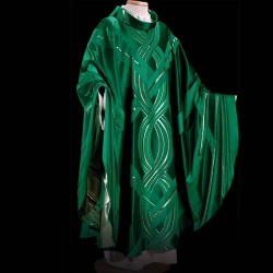 Gothic Chasuble 13380 - Green