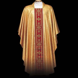 Gothic Chasuble 13391 - Gold