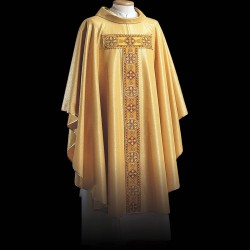 Gothic Chasuble 13395 - Gold