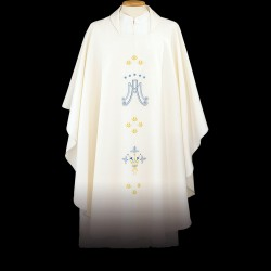 Gothic Chasuble 13397 - Cream