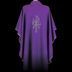 Gothic Chasuble 13401 - Purple