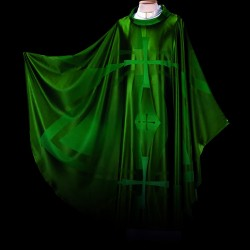 Gothic Chasuble 13409 - Green