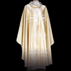 Gothic Chasuble 13411 - Cream