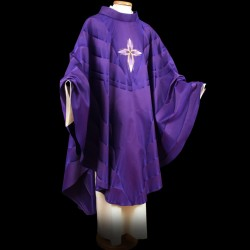 Gothic Chasuble 13413 - Purple