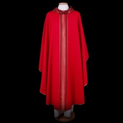 Gothic Chasuble 13415 - Red  - 3