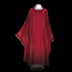 Gothic Chasuble 13425 - Red  - 3