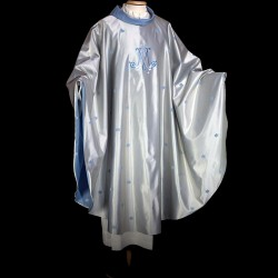 Gothic Chasuble 13438 - Blue  - 2