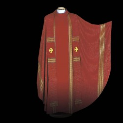 Gothic Chasuble 13469 - Red  - 2