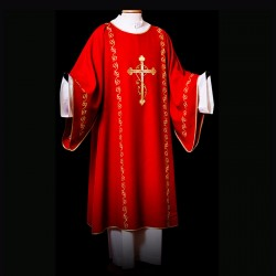 Gothic Dalmatic 13494 - Red  - 1