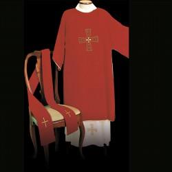 Gothic Dalmatic 13496 - Red  - 1