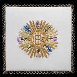 Hand Embroidered Pall 13516  - 1