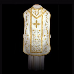 Handmade Roman Chasuble 13531 - Cream  - 1