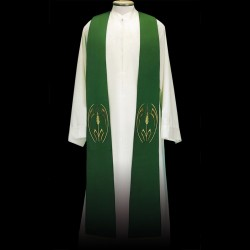 Gothic Stole 13536 - Green  - 1