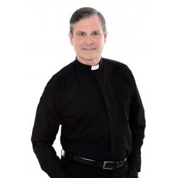 Clergy Shirt - long sleeve - 100% Cotton  - 1