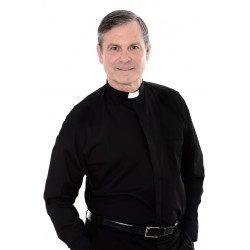 Clergy Shirt - long sleeve - 100% Cotton  - 1