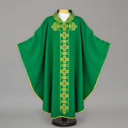 Gothic Chasuble 13633 - Green