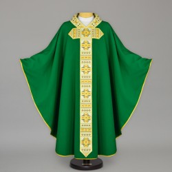 Gothic Chasuble 13636 - Green