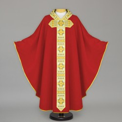 Gothic Chasuble 13638 - Red