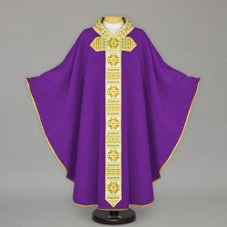 Gothic Chasuble 13641 - Purple