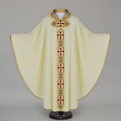 Gothic Chasuble 12689 - Cream