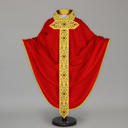 Gothic Chasuble 13647 - Red