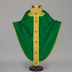 Gothic Chasuble 13648 - Green