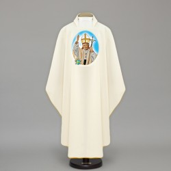 Gothic Chasuble 13658 - Cream