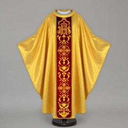 Gothic Chasuble 13662 - Gold  - 1
